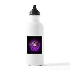 "Violet ""Crown"" Chakra Lotus Water Bottle"