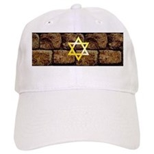 Wailing Wall - Star of David Baseball Cap