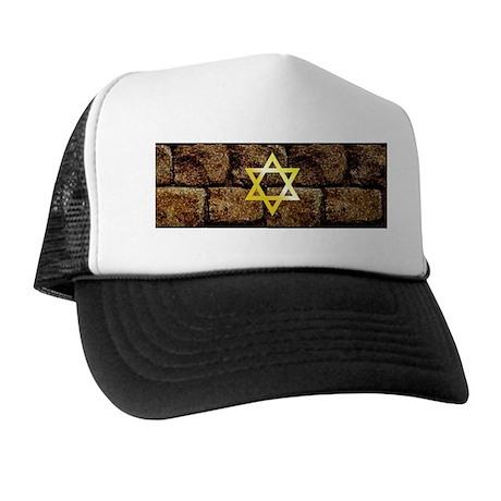 Wailing Wall - Star of David Trucker Hat
