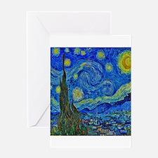 Van Gogh's Starry Night Greeting Cards