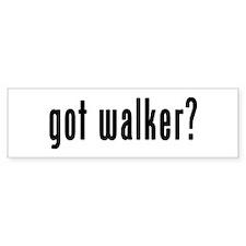 GOT WALKER Bumper Sticker