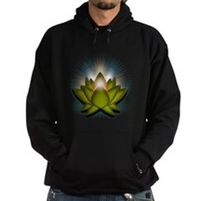 "Green ""Heart"" Chakra Lotus Hoodie"