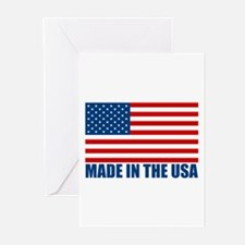 Made in the USA Greeting Cards (Pk of 20)