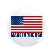 "Made in the USA 3.5"" Button"