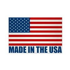 Made in the USA Rectangle Magnet