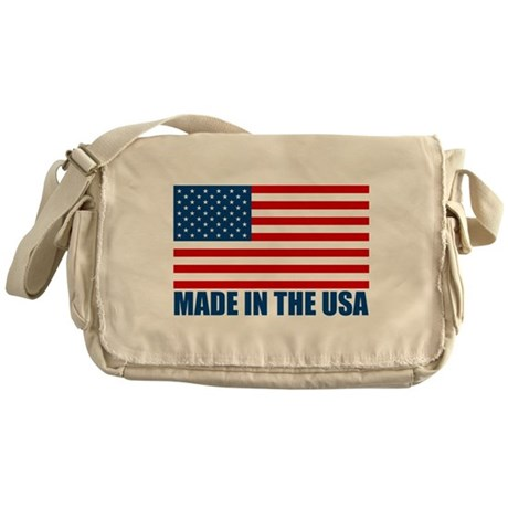 Made in the USA Messenger Bag