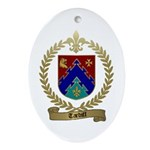 TARDIFF Family Crest Ornament (Oval)