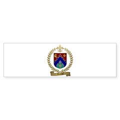 TARDIFF Family Crest Bumper Sticker