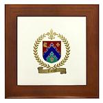TARDIFF Family Crest Framed Tile