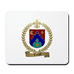TARDIFF Family Crest Mousepad