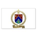 TARDIFF Family Crest Sticker (Rectangle 50 pk)