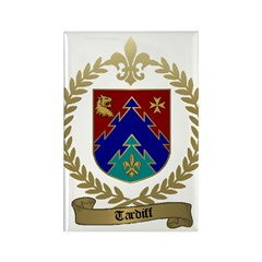 TARDIFF Family Crest Rectangle Magnet (10 pack)