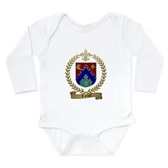 TARDIFF Family Crest Long Sleeve Infant Bodysuit