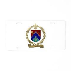TARDIFF Family Crest Aluminum License Plate