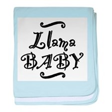 Llama BABY baby blanket
