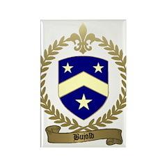 BUJOLD Family Crest Rectangle Magnet (100 pack)