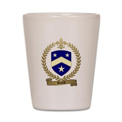 BUJOLD Family Crest Shot Glass