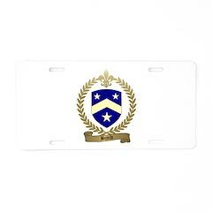 BUJOLD Family Crest Aluminum License Plate