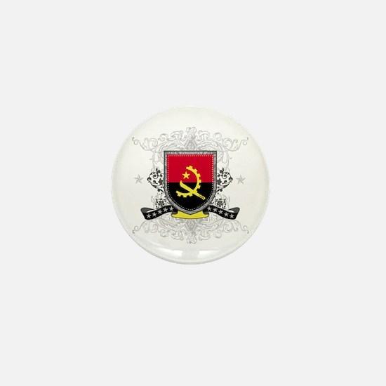 Angola Shield Mini Button