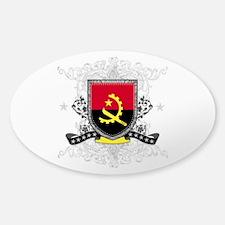 Angola Shield Sticker (Oval)