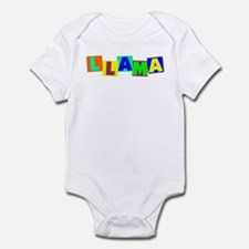 Llama BLOCKS Infant Bodysuit