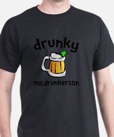 Cute Drunky mcdrunkerson T-Shirt