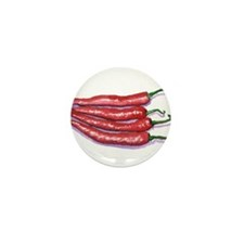 Red Hot Chilis Mini Button (10 pack)
