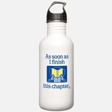 Book Club Water Bottle