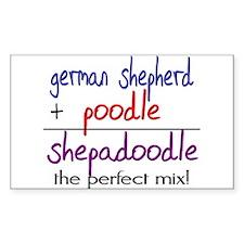 Shepadoodle PERFECT MIX Decal