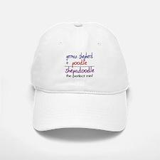 Shepadoodle PERFECT MIX Baseball Baseball Cap