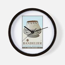 Bandelier 3 Wall Clock
