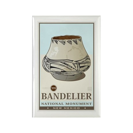 Bandelier 3 Rectangle Magnet