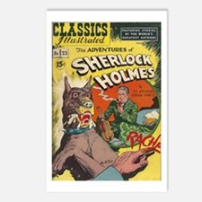 The Adventures of Sherlock Holmes Postcards (Packa