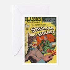 The Adventures of Sherlock Holmes Greeting Cards (