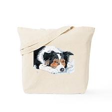 Border Collie Mattie Tote Bag
