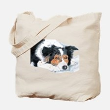 Border Collie Mattie Tote Bag