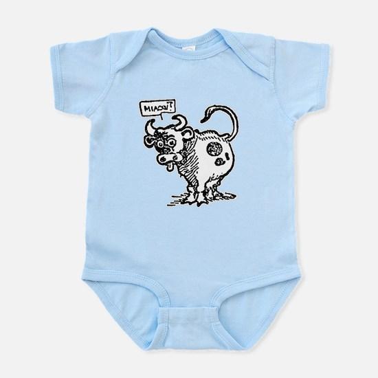 Miaow? Cow Infant Bodysuit
