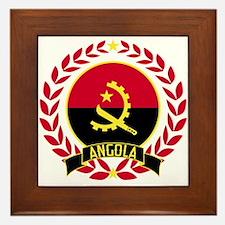 Angola Wreath Framed Tile