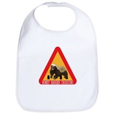 Honey Badger Crossing Sign Bib