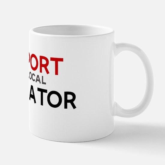 Support:  ESTIMATOR Mug
