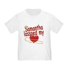 Samantha Lassoed My Heart T