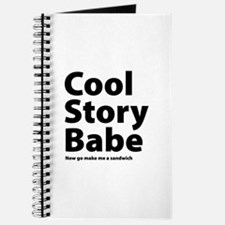 Cool Story Babe Journal