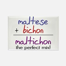 Maltichon PERFECT MIX Rectangle Magnet