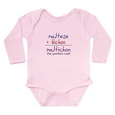 Maltichon PERFECT MIX Long Sleeve Infant Bodysuit