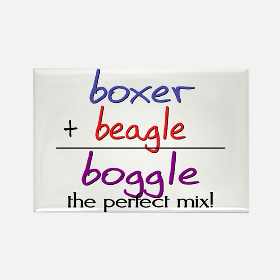 Boggle PERFECT MIX Rectangle Magnet