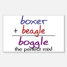 Boggle PERFECT MIX Sticker (Rectangle)