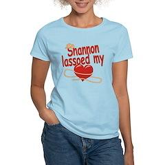 Shannon Lassoed My Heart T-Shirt