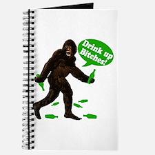 Drink Up Bitches Bigfoot Journal