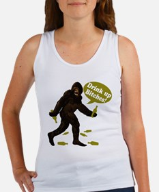 Drink Up Bitches Bigfoot Women's Tank Top