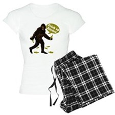 Drink Up Bitches Bigfoot Pajamas